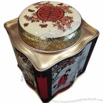 Rectangular Food Tin Box for Gift, Cookie and Biscuit Package