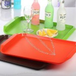 Rectangular Plastic Tray - Multifunctional Color Pallet