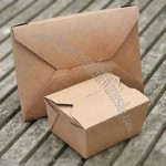 Recycled Brown Kraftpaper Boxes in 2 Sizes