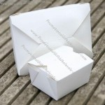 Recycled White Paper Boxes in 2 sizes
