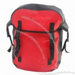 Red 420D Nylon TPU Waterproof Bicycle Bag