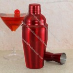 Red 550ml Cocktail Shaker