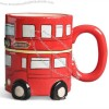 Red Bus Ceramic Mug