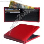 Red Classic Leather Wallet
