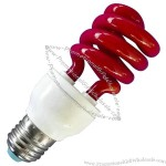 Red Color Spiral Energy Saving Lamps