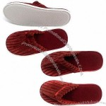 Red Comfortable Hotel Slippers