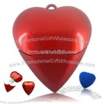 Red heart Usb Flash Disk