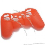 Red Silicone Case Skin for Sony PS3 Game Controller