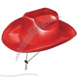Red - Theatrical cowboy hat.