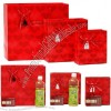 Red Wedding Gift Bags with Heart-shaped shading