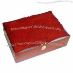 Red Wooden Gift Box