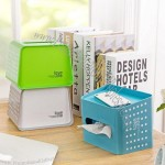 Reel And Removable, Dual-Use Tissue Boxes