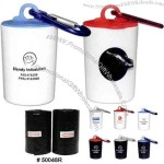 Refills - Pet trash bag container with 20 poly bags.