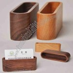 Refinement Wood Business Card Case