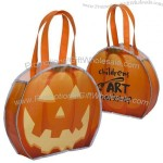 Reflective Non-Woven Pumpkin Halloween Bag