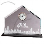 Regal Trophy Glass Clock