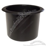 Regular Black Plastic Cup Holder