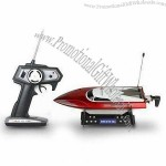Remote Control Boat with 27/40/49MHz Frequency, 50m Control Distance and RoHS-certified