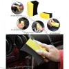 Remove wax residue gap clean sponge corner seat multi- wax cleaning tool
