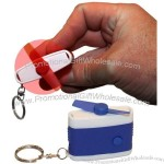 Retractable Pocket Hand Fan with Key Chain