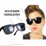 Retro 80s Wayfarer Sunglasses