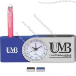 Rise to the Occasion - Clock that holds 1 or 2 pens (not included).