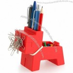 Rocky Desk Butler - Pen Holder, Clip Magnet