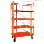 Roll Container with Four Caster Wheels and 500kg Loading Capacity