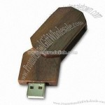 Rotate Wooden USB Memory Stick