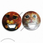 Round Bottle Openers with Customized Designs