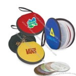 Round CD holder made of waterproof material, can product you loved CD well.
