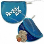 Round Coin Purse w/3D Lenticular Changing Colors Effects