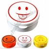 Round Compact Smiley Face Telescopic Cup