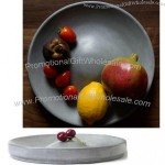 Round Concrete Fruit Nut Tray