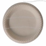 Round Disposable Biodegradable Food Tray