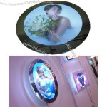Round LED Lighting Acrylic Magic Mirror Light Box