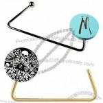 Round Purse Hanger with Balleen Crystal Options