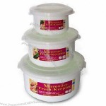 Round-shaped Food Storage Container Set