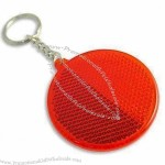 Round-shaped Reflector with Screen Printed Logos