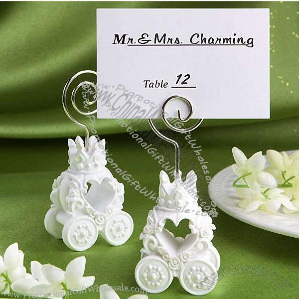 Royal Coach Design Place Card Holder Wedding Favors Discount 296431980