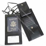 Royce Leather Security Passport Wallet
