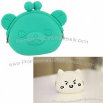 Rubber Squeeze Coin Purse, Cute Ultra-bright, Ultra-light, Tear, Stain and Fade Resistant