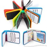 Rubber Wallet, Silicone Credit Card Holder