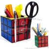 Rubik's Cube Desk Tidy Pen Pot