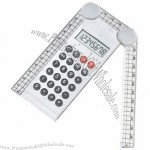 Ruler with 8 Digits Calculator