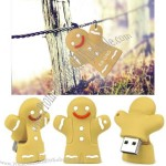 Running Gingerbread Man USB Flash Drive