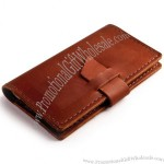 Rustic Leather Checkbook Cover