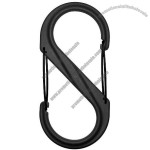 S-Biner Plastic Size-4 Double Gated Carabiner