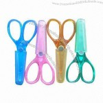 Safety Student's Plastic Handle Scissors
