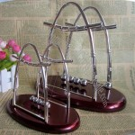 Sailboat Shaped Newton's Cradle Balance Balls